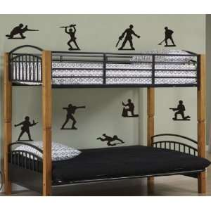 Army Men Decal Set Sticker Toy Toys Green Plastic Kids Kid