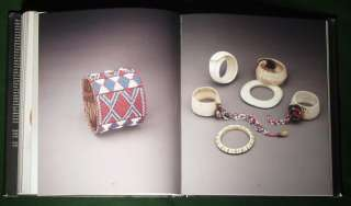 BOOK World Bracelets Ethnic Jewelry carved bone silver Asian African