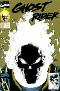 GHOST RIDER COMIC BOOK GLOW IN THE DARK COVER GOLD VARIANT MARVEL