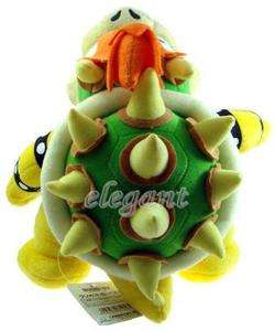 Mario Brothers Bros Party Bowser 10 Stuffed Toy Plush Doll