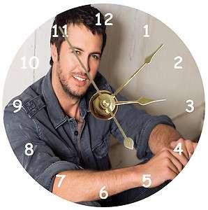NEW Luke Bryan CD Clock