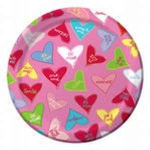 Candy Crush Valentines Day Paper Plates 7 inch 8 Per Pack