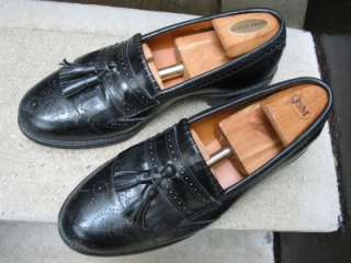 Allen Edmonds Mens Black Loafers Used Shoes 9.5 C