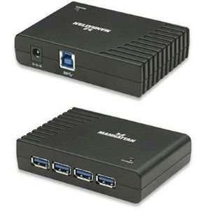 4 Port SuperSpeed USB Hub Electronics