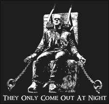 Winter Frankenstein T Shirt   Rockabilly T Shirts   Monster Rock Tees