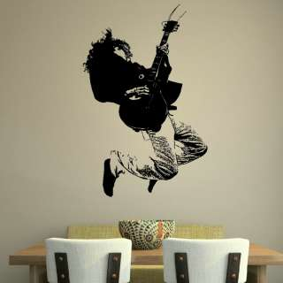 MUSIC WALL GRAPHIC DECAL STICKER giant stencil vinyl mural RA41