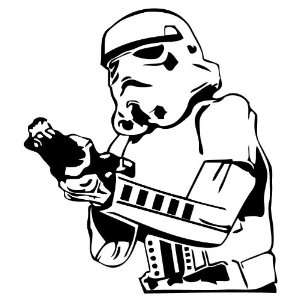Star Wars Storm Trooper Blaster 6 Inch High Quality Vinyl