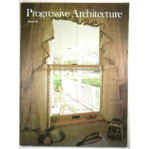 Architecture August 1981 (Volume 62) John Morris Dixon Books