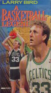 LARRY BIRD   Boston Celtics Dynasty 3 Time NBA MVP VHS