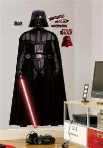 DARTH VADER WALL DECALS Star Wars Movie Stickers