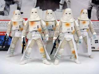 Lot Of 5 Star Wars Battle Of Hoth Snowtrooper Target Exclusive Loose