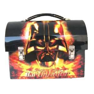 Star Wars Darth Vader Dome Metal Tin Lunch Box Office