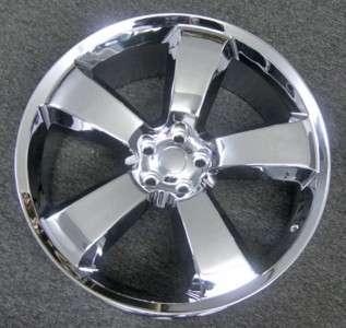 22 Dodge Charger SRT8 Chrome Replica wheels