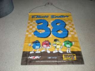 #38 Huge Banner Nascar Race Racing Team M&M Car 38 Sign Flags