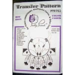 Hot Iron Transfer Pattern #9752 Southwest Desert Symbols (For Punch