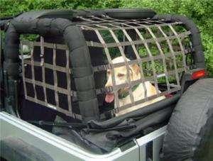 Rear Cargo Netting System Jeep Accessories Wrangler TJ