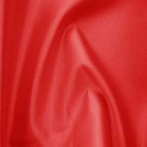 Reversible Silk Wool Fabric 09 Red: Home & Kitchen