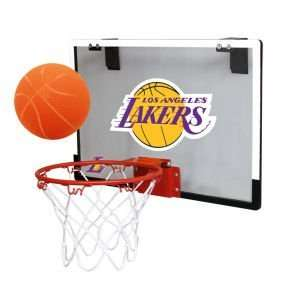 Los Angeles Lakers Game On Polycarb Hoop Set Sports