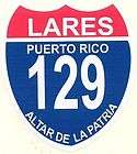 puerto rico carretera 129 lares car sticker decal $ 3 99 listed aug 05