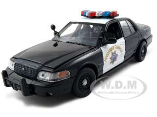 Ford Crown Victoria Highway Patrol Car die cast model by Motormax