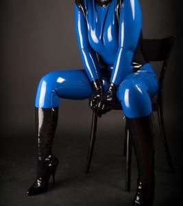 Latex Rubber/Catsuit/Suit/Costume/Color mixing/party