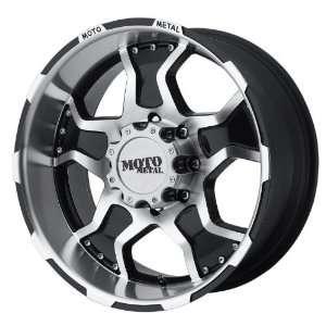 Moto Metal Series MO957 Gloss Black Machined Wheel (17x9/8x6.5)