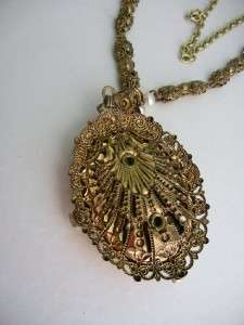 Vintage WESTERN GERMANY Necklace Serenade Scene