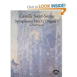 Full Score (9780486283067): Camille Saint Saens, Music Scores: Books