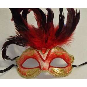 Venetian Masquerade Halloween Goth Ball Party Mask Prom: Toys & Games