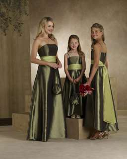 Vintage Formal Long Prom Gown Bridesmaid Bridal Party Dresses Size