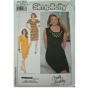 16 18 CHRISTIE BRINKLEY COLLECTION EASY TO SEW SIMPLICITY PATTERN 9698