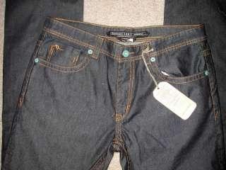 NWT Kentucky Smitty Boot Cut Dark Blue Mens Jeans Sz 34x34 38x34 $160