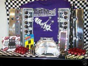SBC ALUMINUM VORTEC HEAD HYD ROLLER CHEVY ENGINE KIT