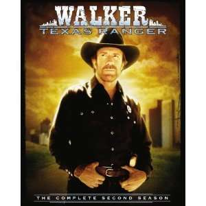 WALKER TEXAS RANGER COMPLETE SECOND SEASON Movies & TV