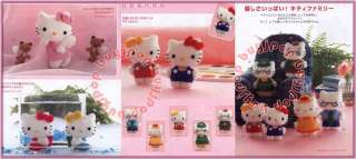 Japanese Craft Pattern Book Felt Doll Mascot Sanrio Character Hello
