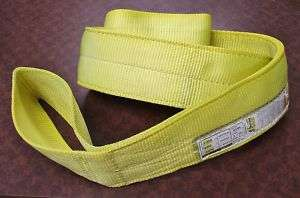 TUFF TAG Overhead Crane Sling / Tow Strap EE2 904 x20ft