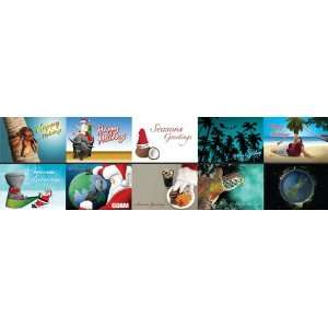 Assorted Guam Christmas Cards   10 Pack Everything Else