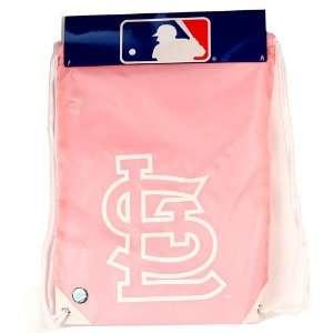 St. Louis Cardinals Cinch Bag   Pink