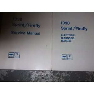 1990 Chevy Sprin Firefly Service Repair Manual SE OEM
