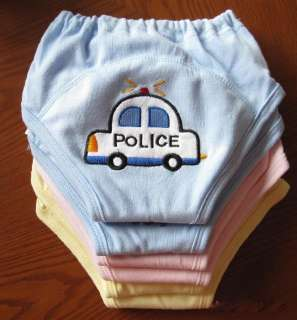 New Baby Boys Girls Toilet Training Pull up Pants 4 Layers 6 styles 3