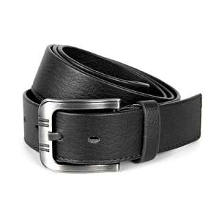 Mens Leather Belt Fashion Casual Belt Buckle A009 S M L