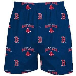Boston Red Sox Mens Supreme Boxer Shorts by Concepts