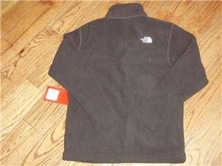 NWT Mens North Face Jack Full Zip Jacket. Fleece. Brown. Small