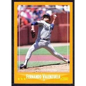 Angeles Dodgers Baseball Team Set . . .Featuring Fernando Valenzuela