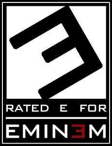 EMINEM RATED E T SHIRT RECOVERY RELAPSE CD ALBUM SHADY