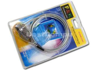 NEW Notebook/LAPTOP SECURITY CABLE CHAIN LOCK w/#