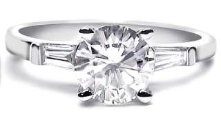 06 ct PLATINUM SETTING ROUND DIAMOND ENGAGEMENT RING