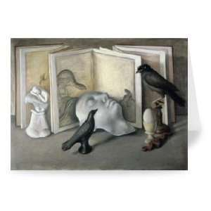 Guardians of Sleep (chalk, conte and pastel..   Greeting Card (Pack of