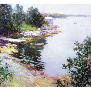 Hand Made Oil Reproduction   Willard Leroy Metcalf   32 x