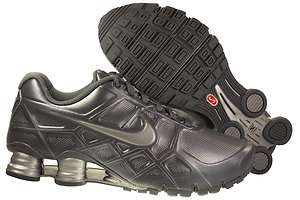 New Mens Nike Shox Turbo XII Running Shoes Cool Grey/Metallic Silver